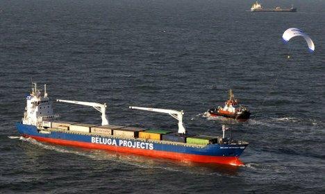 Hamburg company hopes kites will make shipping greener