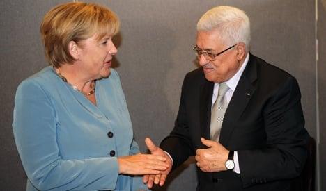 Abbas to seek German help for Palestine