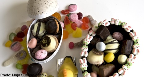 Swedish Easter eggs contain slaughter waste