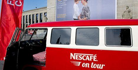 Nestlé sales tumble in first quarter