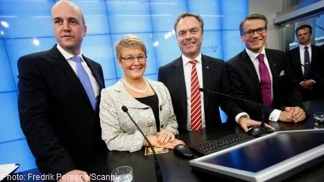 Alliance tax cuts top 100 billion kronor