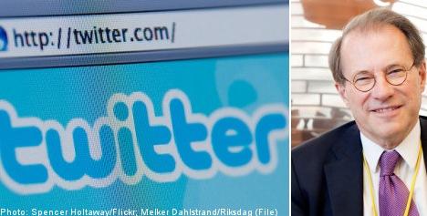 'Let Swedish MPs tweet away': Riksdag Speaker