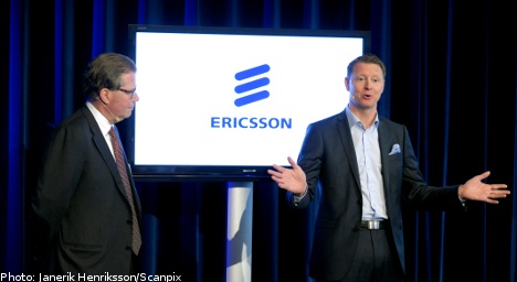 Sweden's Ericsson posts massive profits hike