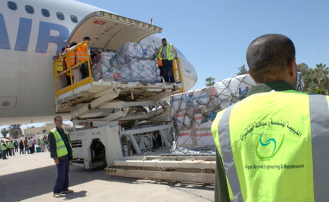 Germans back troops for EU humanitarian mission in Libya