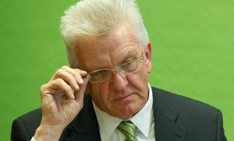 Carmakers slam Greens' Kretschmann