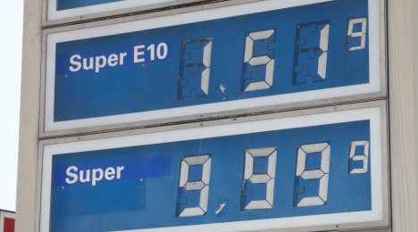 Petrol station charges €9.99 a litre for gas