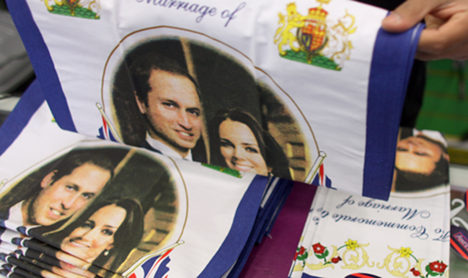 British royal wedding set for mass exposure