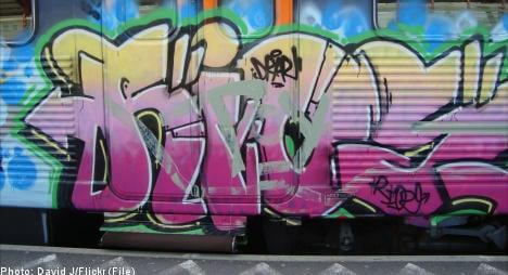 Green light for Swedish rail operator's 'graffiti database'