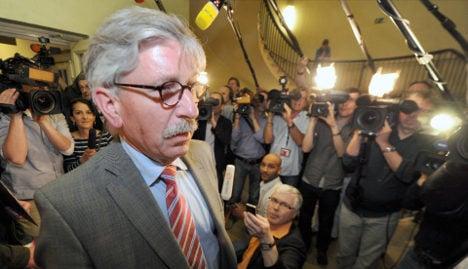 Sarrazin pardon sparks fierce SPD backlash