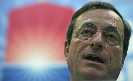Merkel reportedly to back Draghi as ECB chief