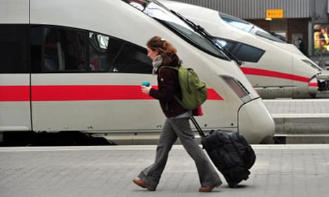 One third of Deutsche Bahn trains found late