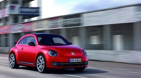 Volkswagen unveils new, macho Beetle