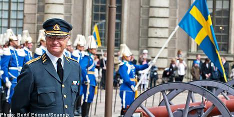 Sweden's king celebrates 65th birthday