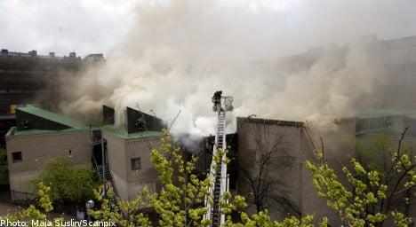 Massive fire leaves KTH student body reeling