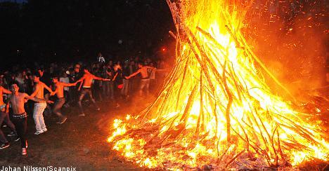 Drunken chaos mars Walpurgis celebrations