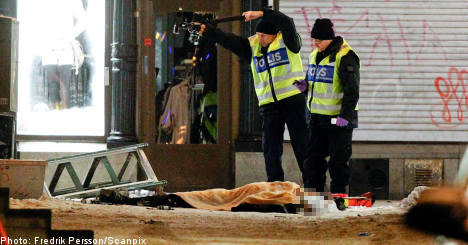 Sweden terror threat stands despite bin Laden death