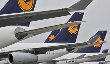 Lufthansa traffic hit by Japan disaster