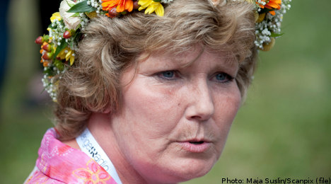 Annika Östberg walks free after 30 years