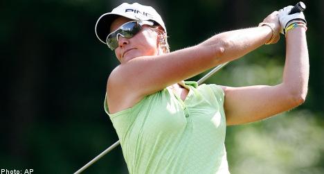 Sweden's Hjorth tops upstart teen in LPGA win