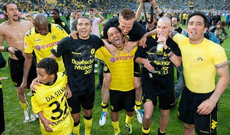 Dortmund crowned Bundesliga champions