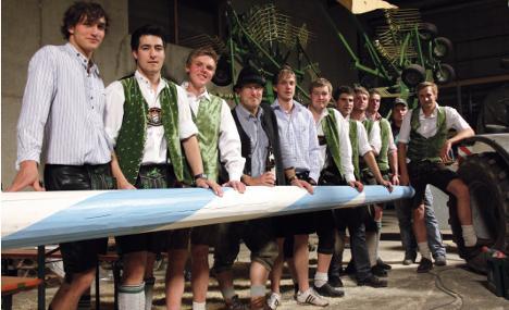 Bavarians revel in maypole intrigue