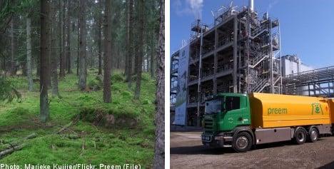 Swedish forests spawn new 'green' diesel