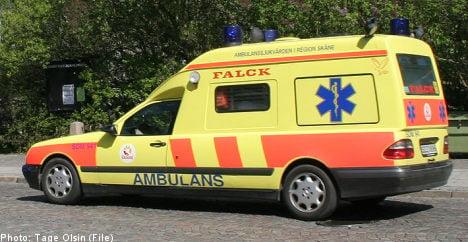 Swedish woman dies after ambulance no show