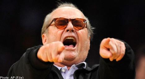 'Jack Nicholson' surprises Swedish music festival fans