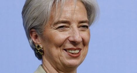 Lagarde pitches for IMF job