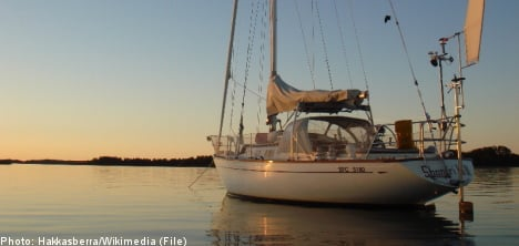 Drunken Swedish sailor forgot his wife was on shore
