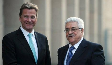 Berlin to advise against Palestinian state bid