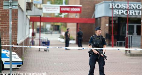 Malmö police station attacked by gunfire