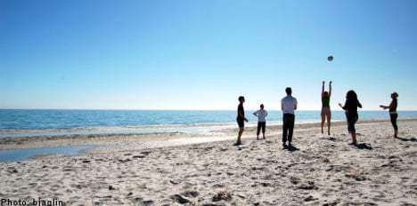 Eco thumbs up for Swedish beaches