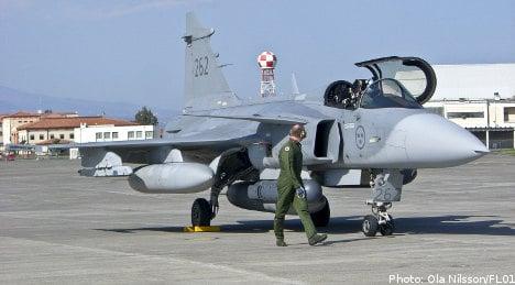NATO asks Sweden for more help in Libya