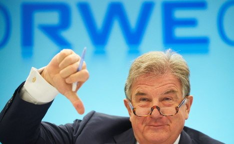 RWE boss warns of industrial decline from nuclear phaseout