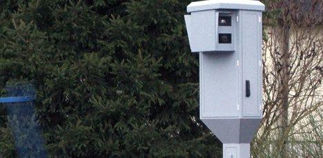 Speed camera flash wakes speeding driver