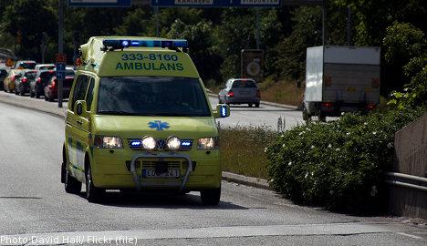 11-year-old Swedish girl denied ambulance