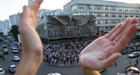 Swedish diplomat attacked in Belarus