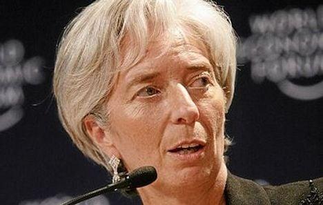 China backs Lagarde's bid to head IMF: report