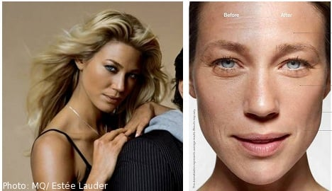 Swedish supermodel in 'age-bullying' lawsuit