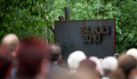 Duisburg dedicates Love Parade memorial