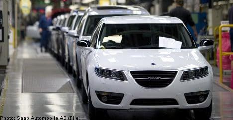 Saab production grinds to a new halt