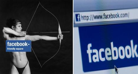 Swedish museum takes aim at Facebook censor