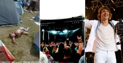 Swedish music fans brace for summer festival frenzy