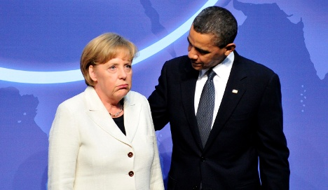 Obama to pressure Merkel on Libya