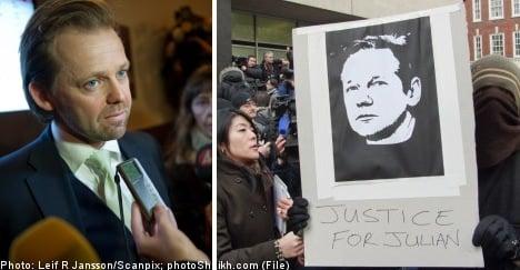 Swedish bar association raps Assange lawyer