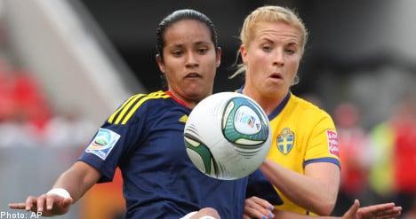 Sweden coach defends squad's 'bully girl' tactics