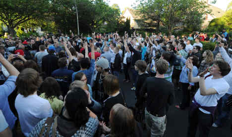 After violence, fearful Wuppertal tries to ban Facebook shindig