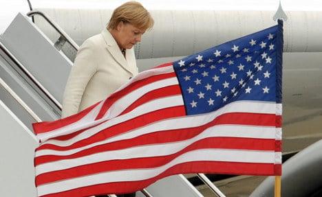 Merkel's VIP treatment in DC