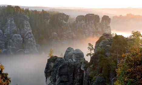 Wandering around Saxony's answer to Switzerland